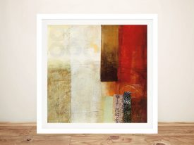 Warmth Framed Contemporary Wall Art