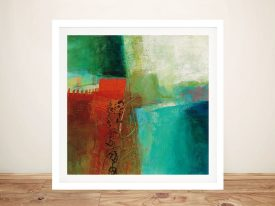 Wind Colour Abstract Print on Canvas