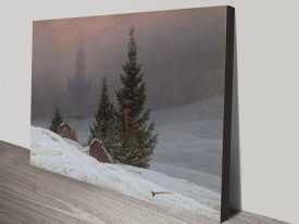 Buy a Canvas Print of Winter Landscape
