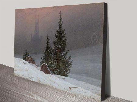 Buy a Canvas Print of Winter Landscape
