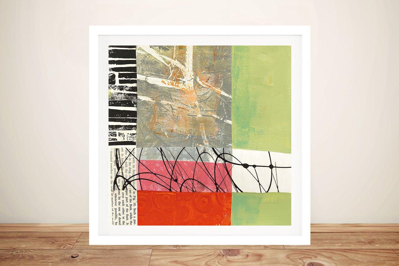 Framed Jane Davies Abstract Art Online