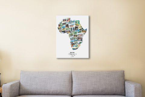 Custom Map Collage Amazing Gift Ideas AU