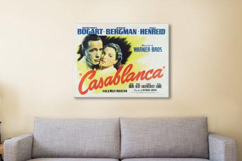 Casablanca Film Poster Print