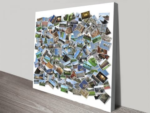 Photo Assortment Collage Print on Canvas