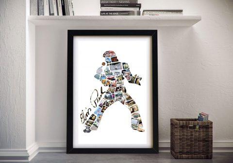 Framed Elvis Photo Collage Gift Ideas AU