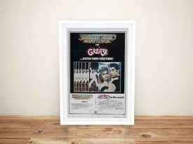 Grease & Saturday Night Fever Poster