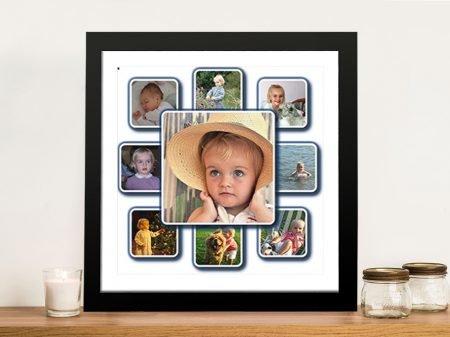 Diamond Shaped Custom Photo Collage