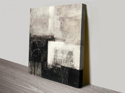 A Wintry Day III Black & White Wall Art