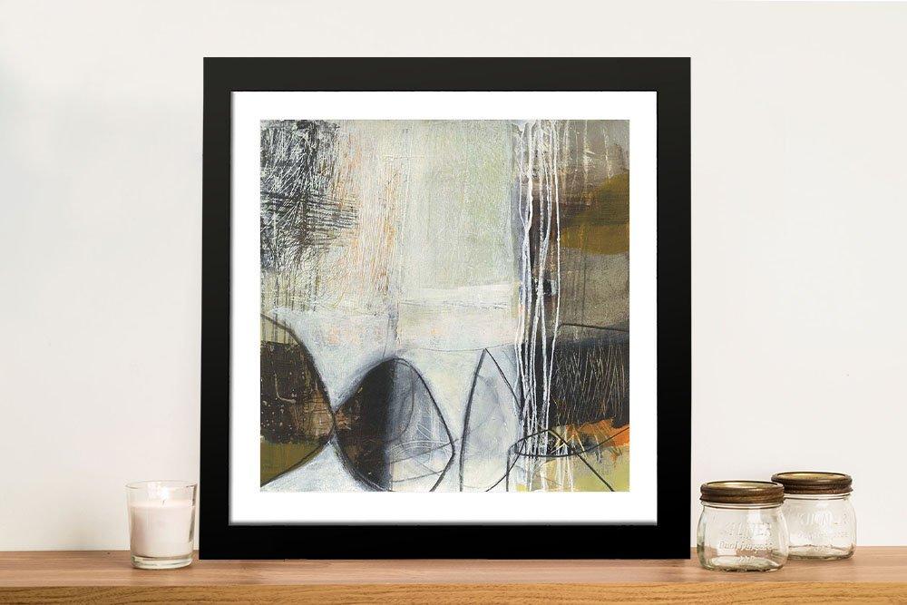 Abstract Pebble Framed Art Cheap Online