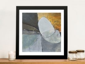 Buy a Framed Print of Abstract Pebble II