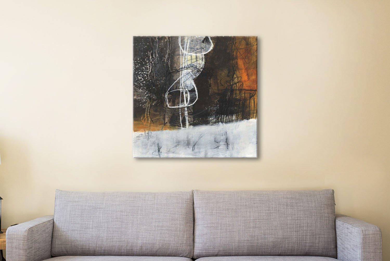 Abstract Pebble V Ready to Hang Wall Art AU