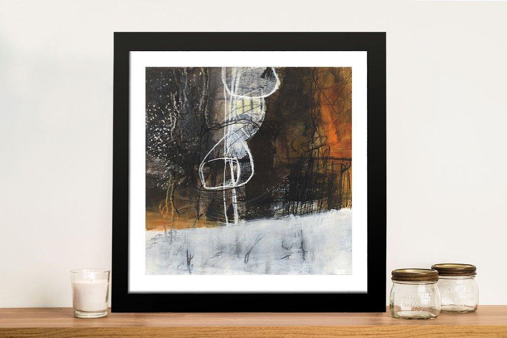 Abstract Pebble Jane Davies Framed Wall Art