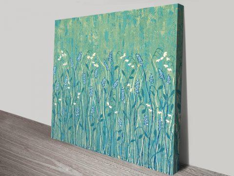 Abundant Wild Flowers Abstract Floral Art