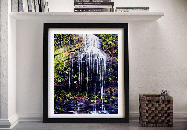 Buy a Framed Print of Adelina Falls Online