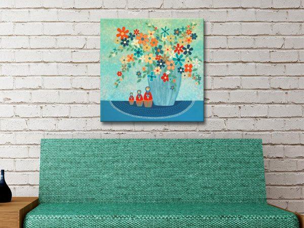 Babushka Love Quality Canvas Wall Art AU