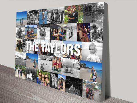 Family Photo Collages Unique Gift Ideas AU