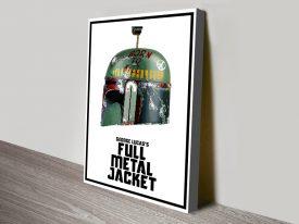Boba Fett Full Metal Jacket Poster Print