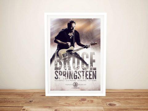 Bruce Springsteen Framed Wall Art