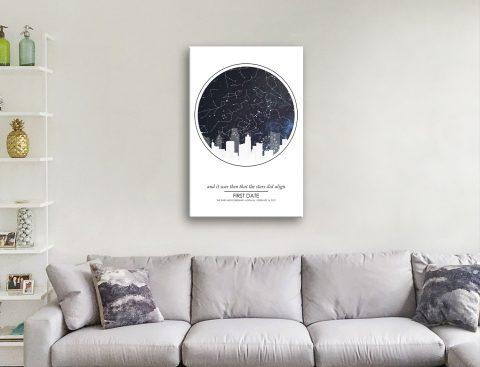 Get Unique Star Map Wall Art Cheap Online