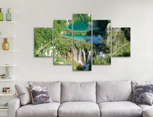 Ready to Hang Multi-Panel Landscape Art