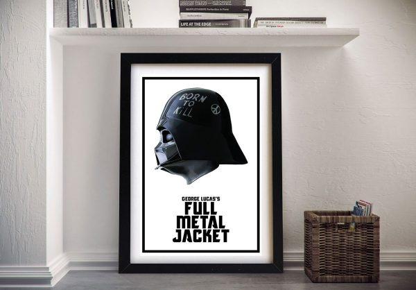 Darth Vader Full Metal Jacket Helmet Wall Art