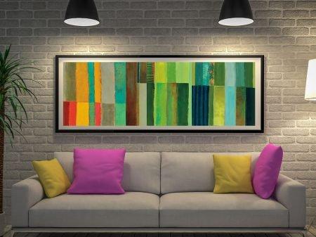 Fields of Colour Jane Davies Panoramic Art