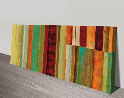Fields of Colour V Stretched Canvas Art AU