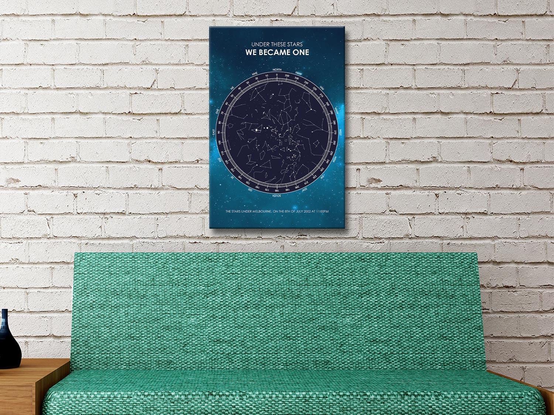 Unique Star Maps Anniversary Gift Ideas AU