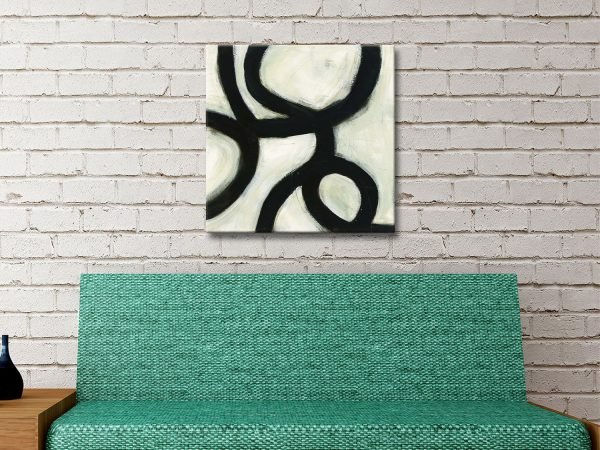 In the Maze Abstract Art Home Decor Ideas AU
