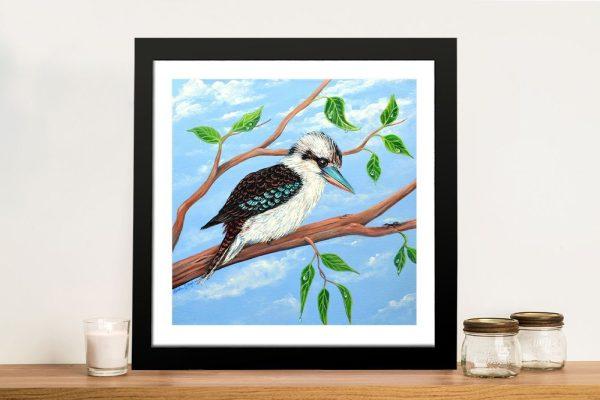 Kookaburra and the Ant Framed Wall Art