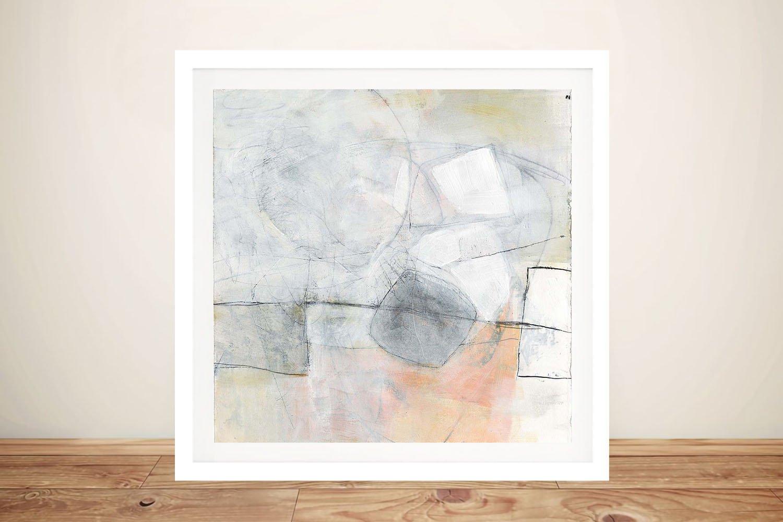 Misty I Framed Abstract Art Home Decor AU