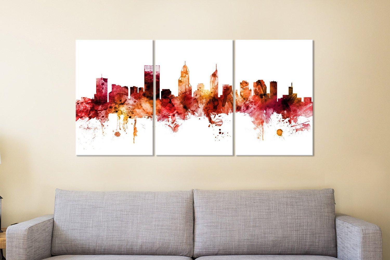 Perth Australia Skyline Art