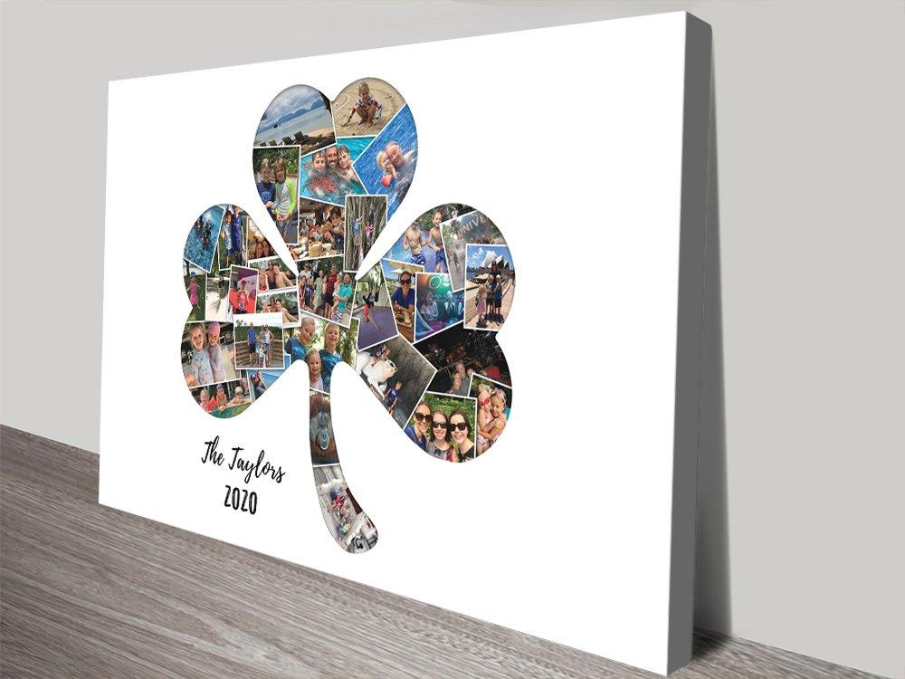 Shamrock Collage Unique Gifts for Sale AU