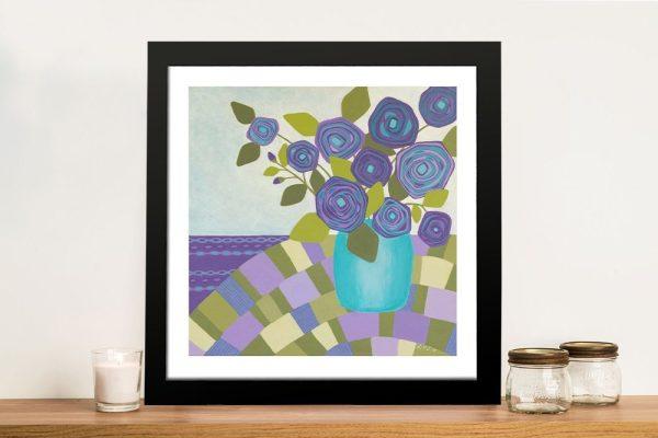 Framed Lisa Frances Judd Floral Wall Art