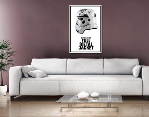 Stormtrooper Helmet Art Home Decor for Men