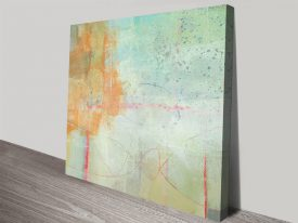 The Field III Stretched Canvas Wall Art