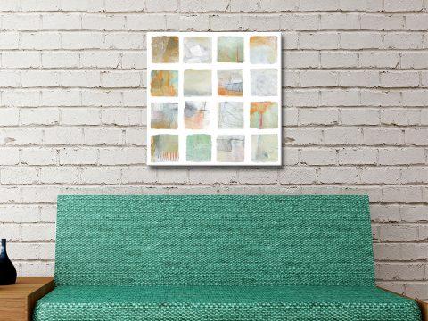 The Misty Fields Print on Canvas Gift Ideas AU