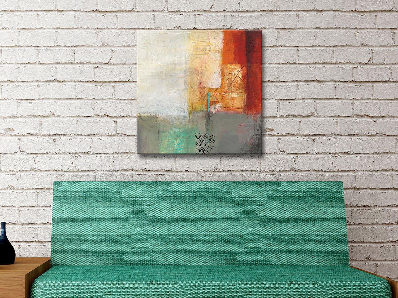 Warmth V Ready to Hang Colourful Art