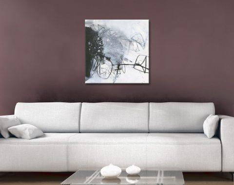 Grey Tones Jane Davies Abstract Wall Art