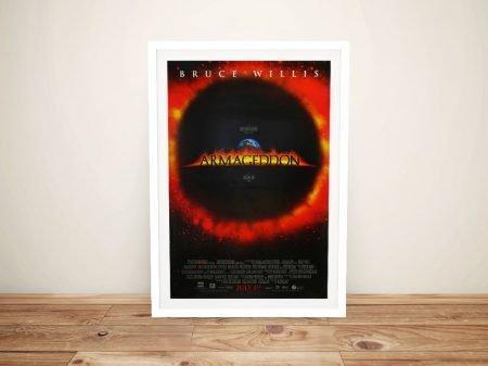 Armageddon Movie Poster Framed Wall Print