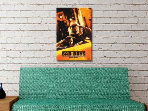 Bad Boys Canvas Artwork