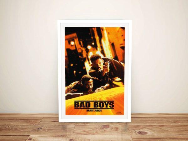 Bad Boys Framed Wall Art