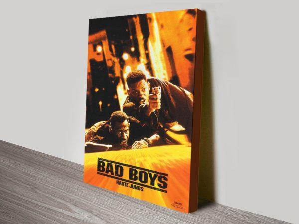 Bad Boys Canvas Print