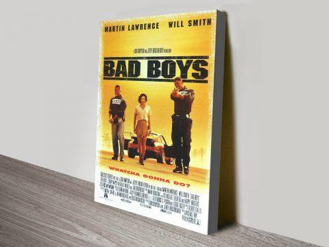 Buy a Bad Boys Canvas Movie Poster