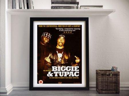 Biggie and Tupac Framed Wall Art