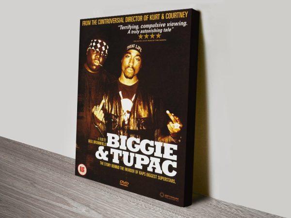 Biggie and Tupac Canvas Print