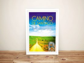 Camino De Santiago Canvas Movie Poster