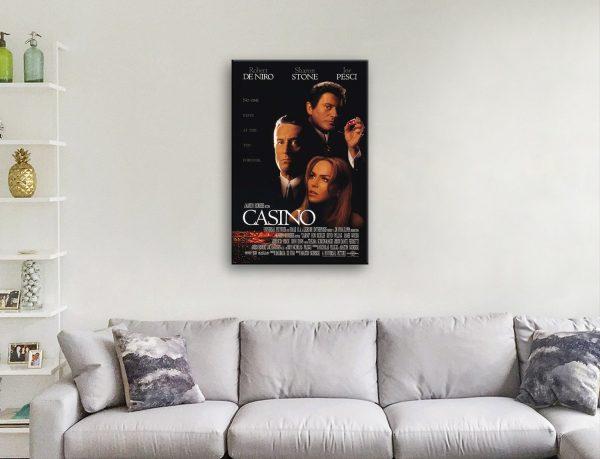 Casino Martin Scorsese Movie Poster Print