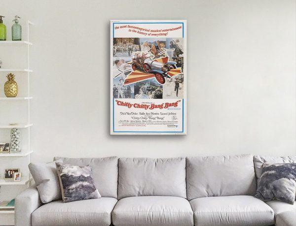 Chitty Chitty Bang Bang Classic Movie Posters AU