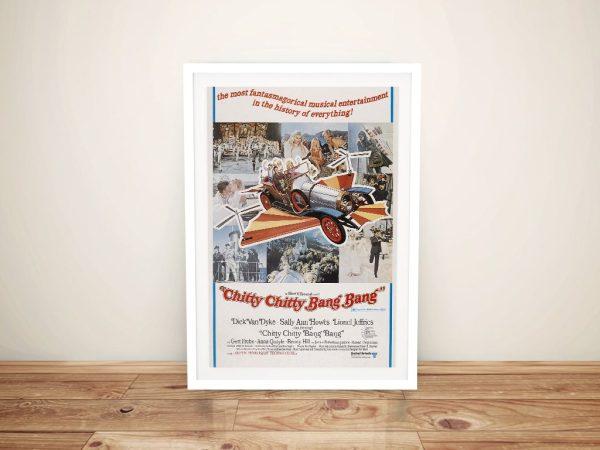 Chitty Chitty Bang Bang Movie Poster Print